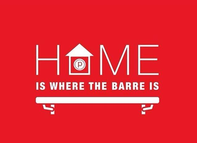 Home is where the barre is.