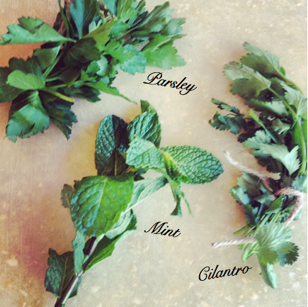 Beautiful herbs to beautify and detoxify.