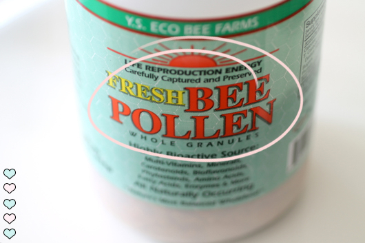 The bee pollen I polished off the first time with no ill effects. Image courtesy of theskinnyconfidential.com