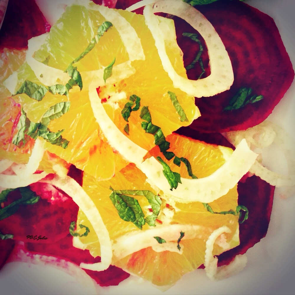 Crank up the flavor, not the oven, with this crisp and juicy raw citrus beet salad.