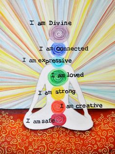 Balanced chakras, happy life.