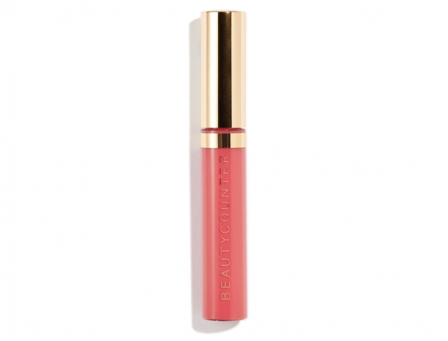 Peony Lip Gloss is moisturizing and goes on smoothly—with no stickiness.