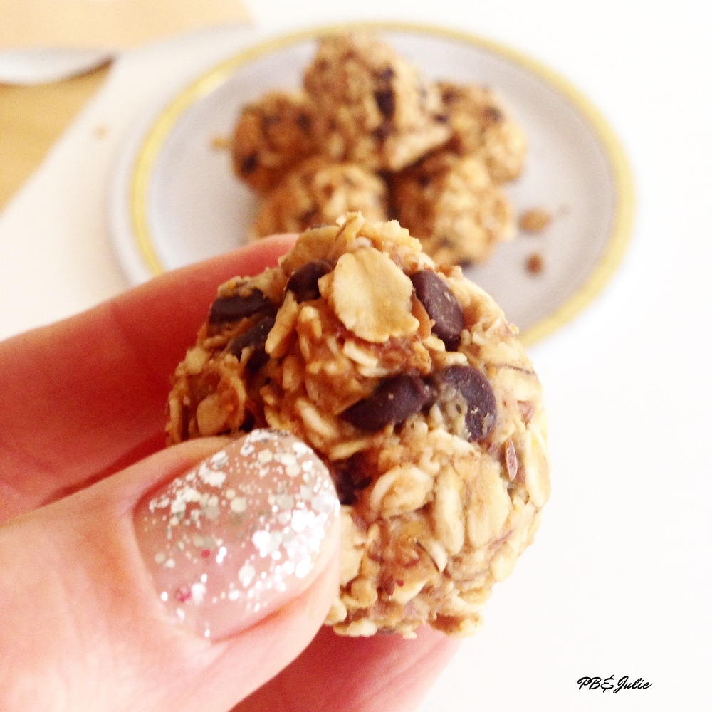 "Get lucky in 2016 with these energizing, no bake, balls of goodness. Circular foods are thought to bring good luck, symbolizing ""coming full circle."""