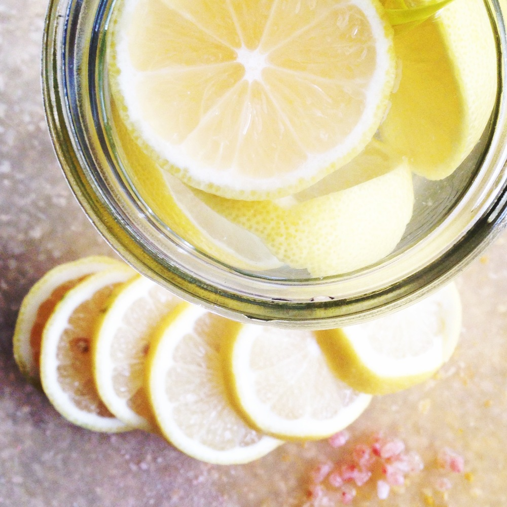 Waking up to warm lemon water will help your body hydrate while supporting its detox efforts.
