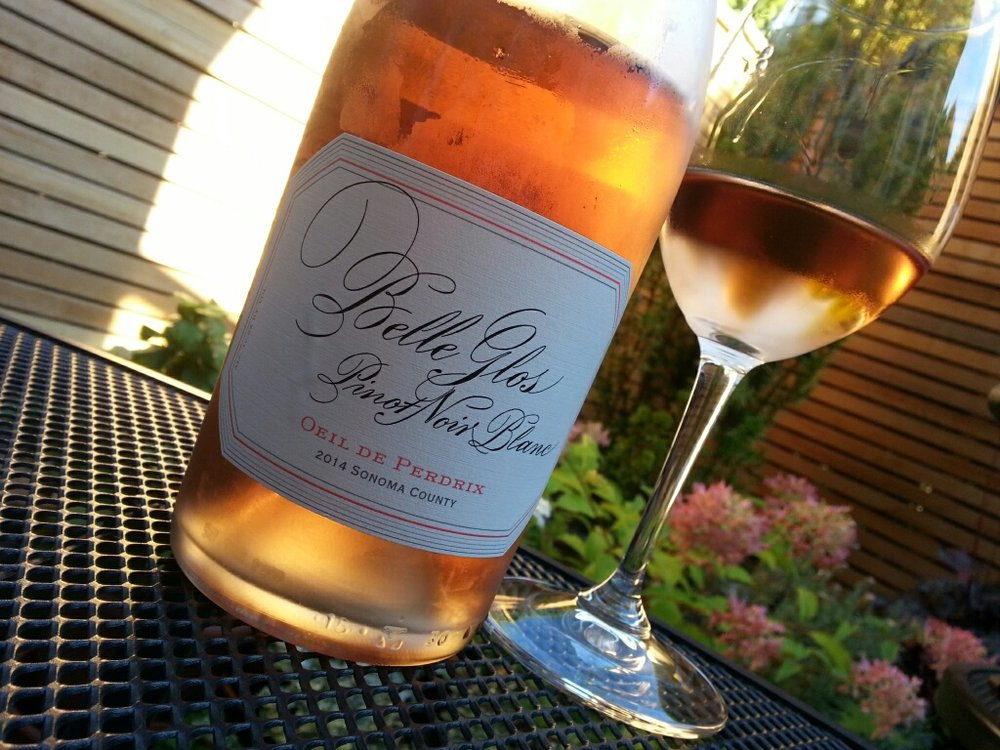 My favorite rosé everrrrrrrrr... Belle Glos Pinot Noir Blanc