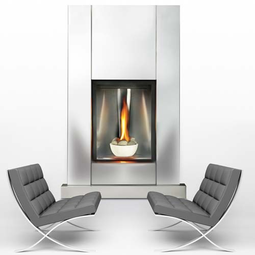 Napolean GD82T   Contemporary fireplace