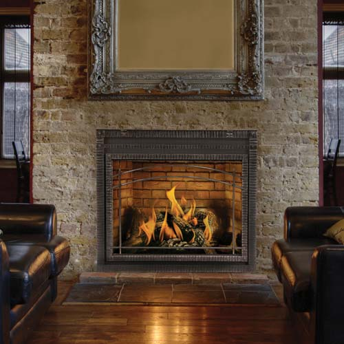 Napolea  n   HDX40   Traditional Fireplace