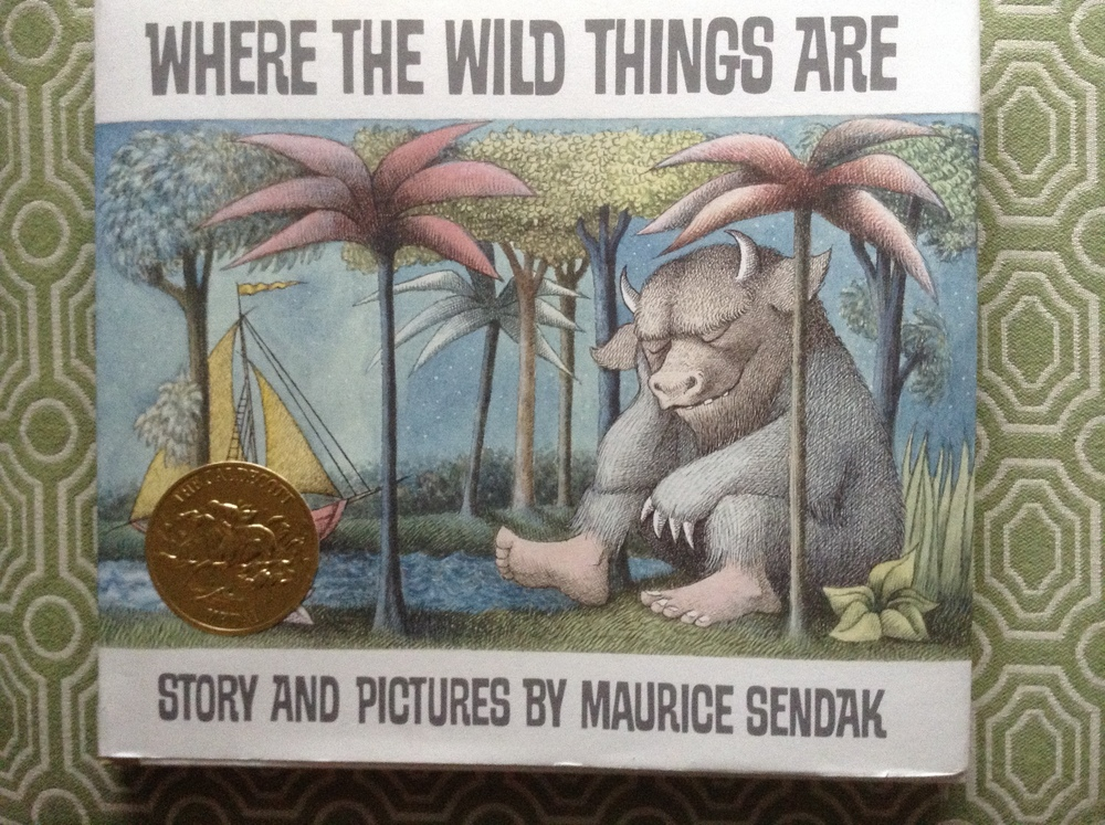 This copy of Where the Wild Things Are was purchased at Magers and Quinn, one of the great literary treasures in Minneapolis, MN                                                                            magersandquinn.com  @magersandquinn