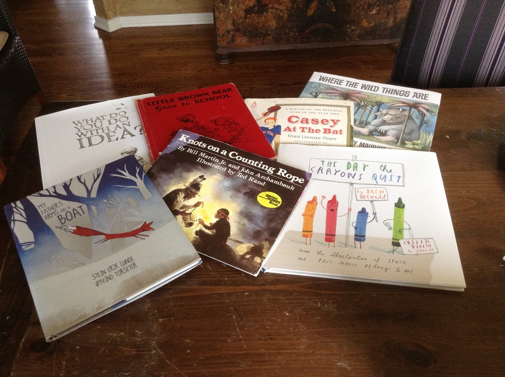 A few Picture Book favorites enjoyed by family, friends and students from both years past, and current years