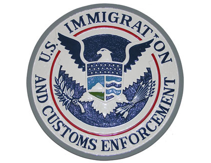 U.S. Immigration and Customs Enforcement (ICE) Logo