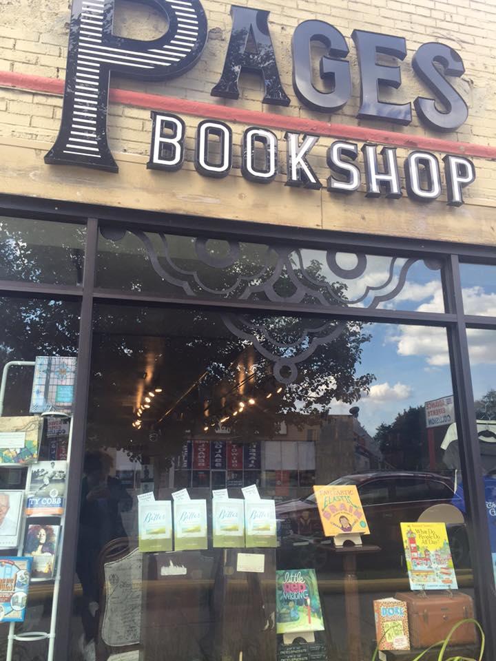 Pages Bookshop.