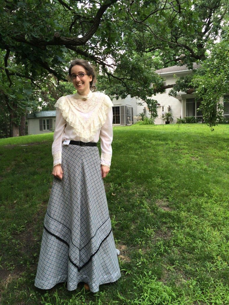 Anoka County Historical Society's Rebecca will act as Mary Woodbury for this event