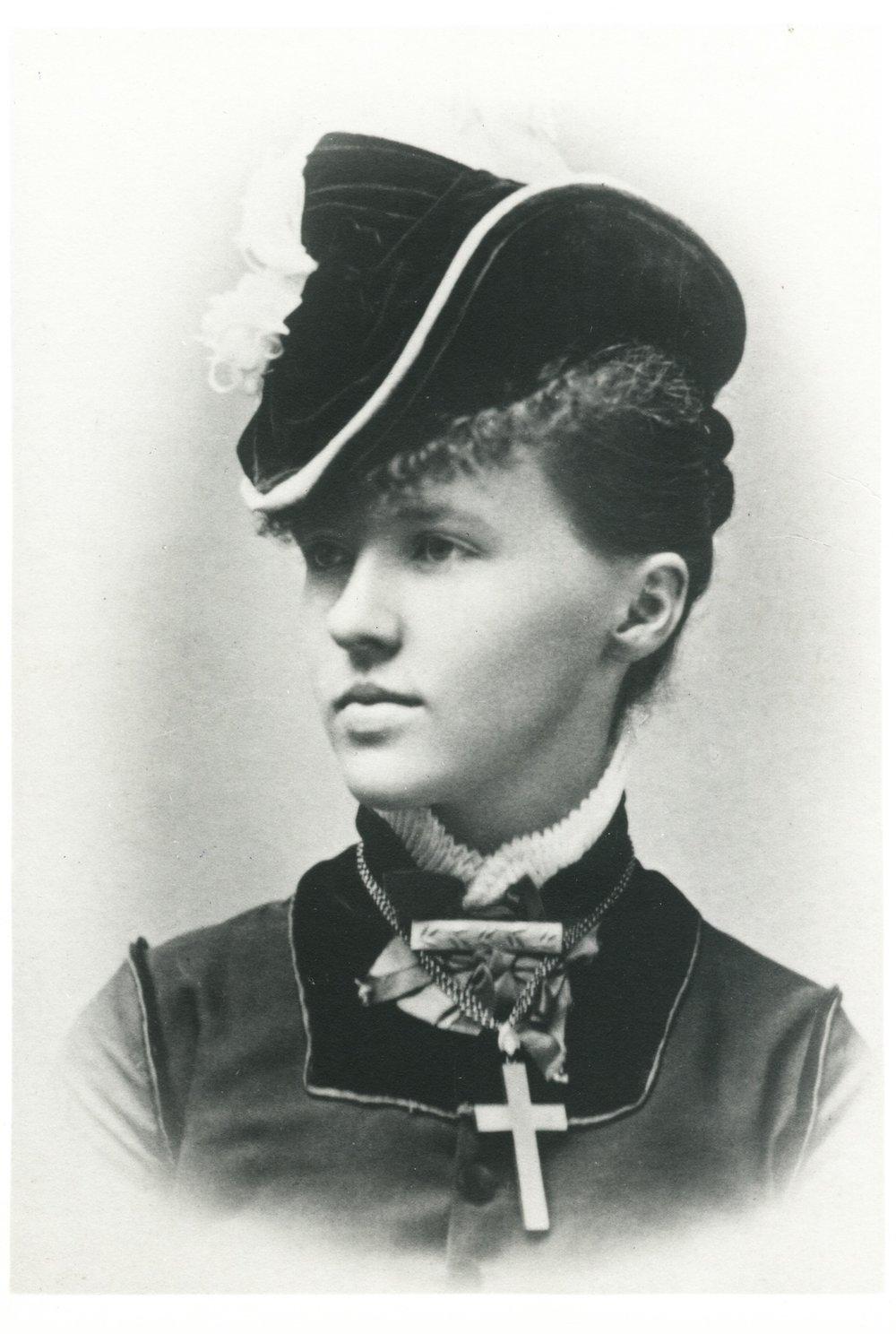 Mary Woodbury, circa 1880