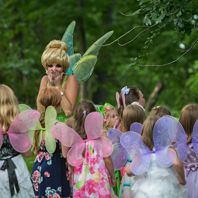 Tink is in town! Join us for our second Fairy Garden Tea Party with #Tinkerbell from @princesspartypals on Thursday August 31st - tickets available now on madhatteranoka.com #madhatteranoka #tea #teaparty #fairy #fairies #fairygarden