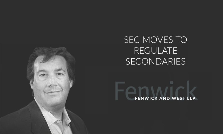 MIKE DICKE, CO-CHAIR, SECURITIES ENFORCEMENT FENWICK & WEST