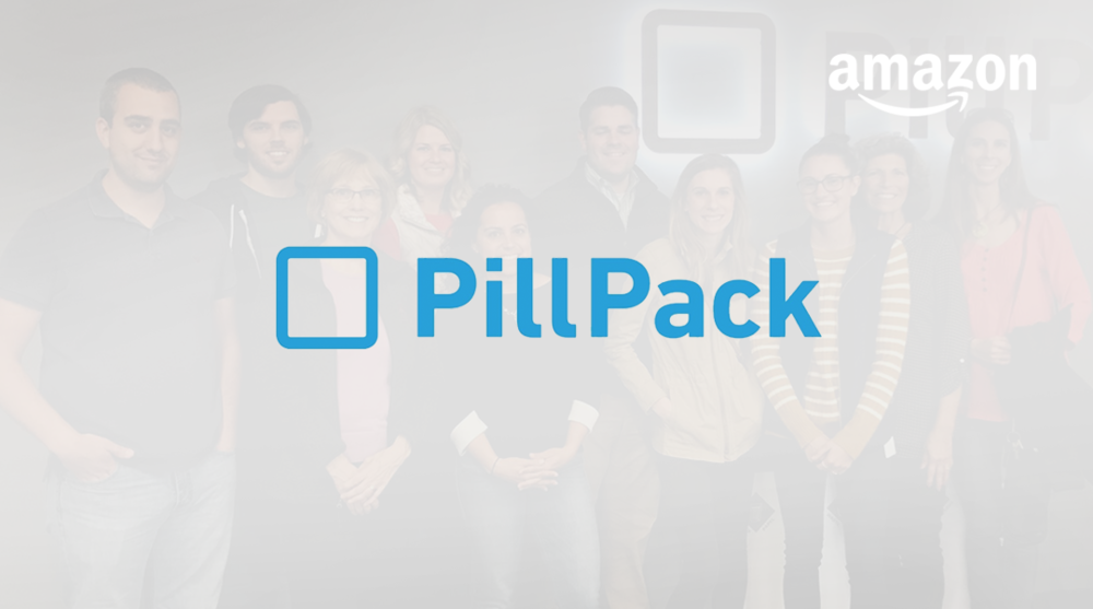 Amazon buys PillPack, an online pharmacy, for just under $1B  →