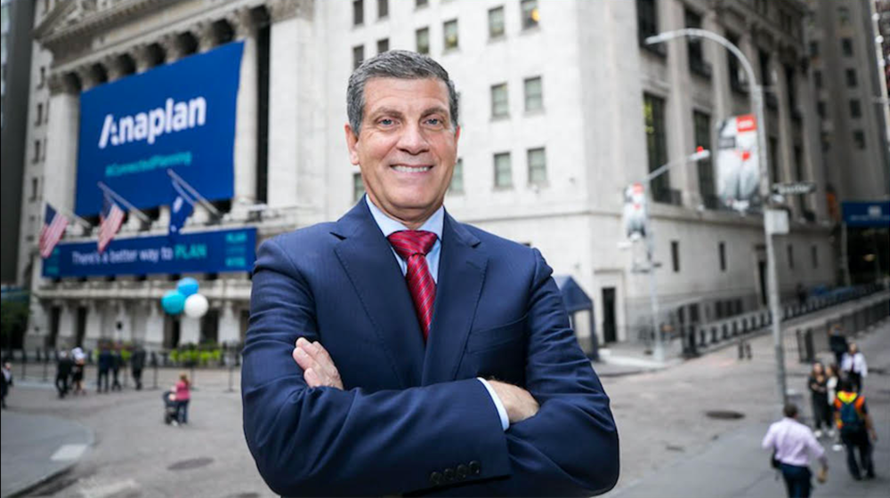Frank Calderoni, Anaplan President & CEO Chats Post IPO<br>READ THE STORY →
