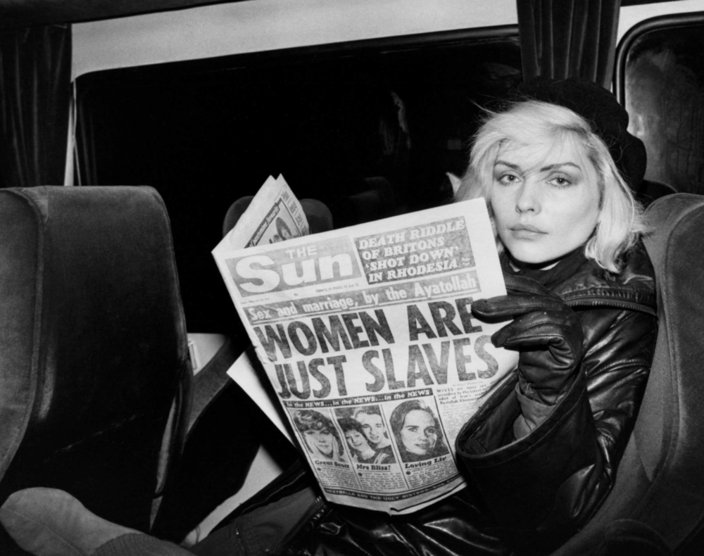 Debbie Harry.  Chris Stein / Negative.  Rizzoli