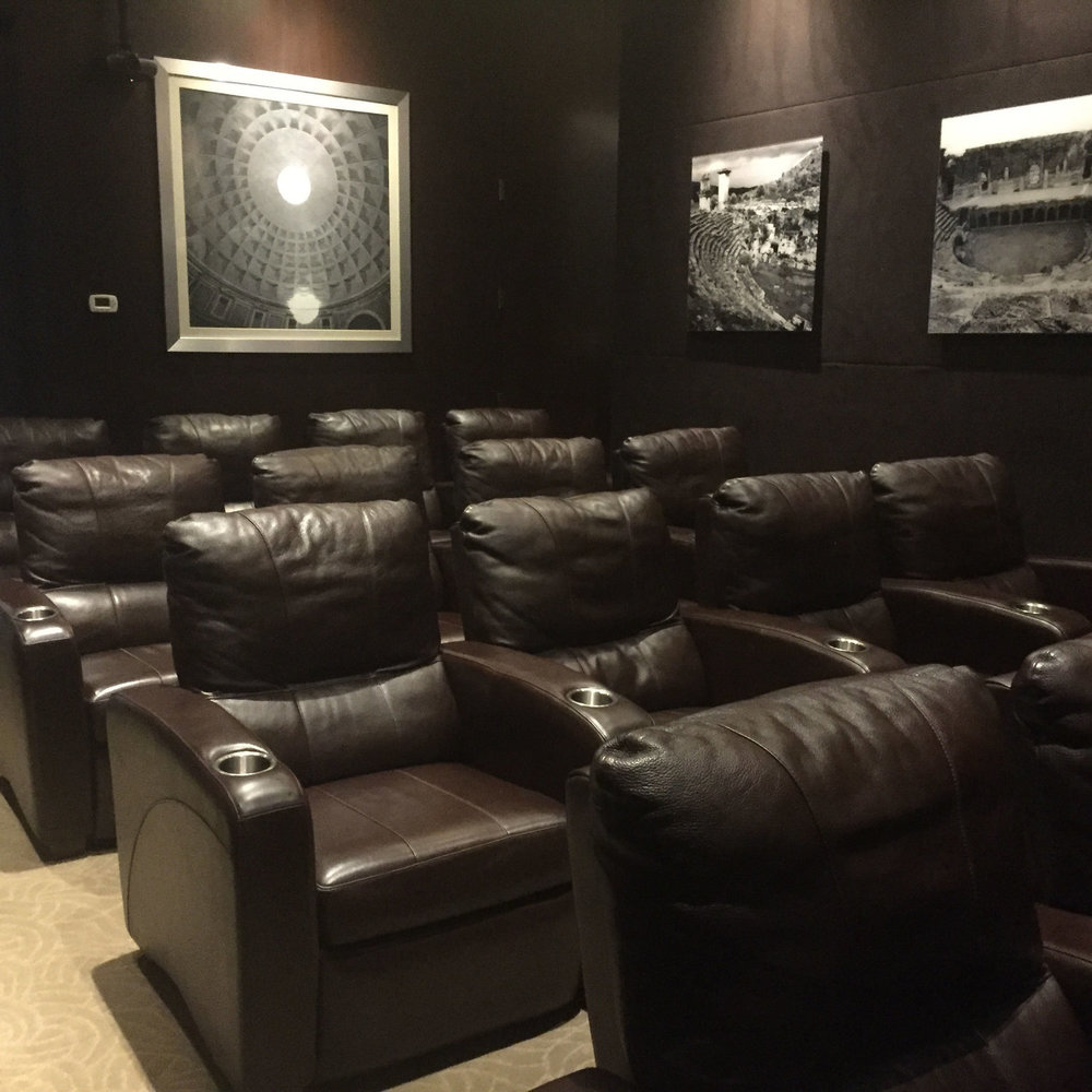 The Sussed Salon 'home' space - a private screening room on the Upper West Side of Manhattan.