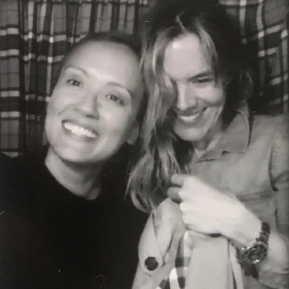 Sam (right).