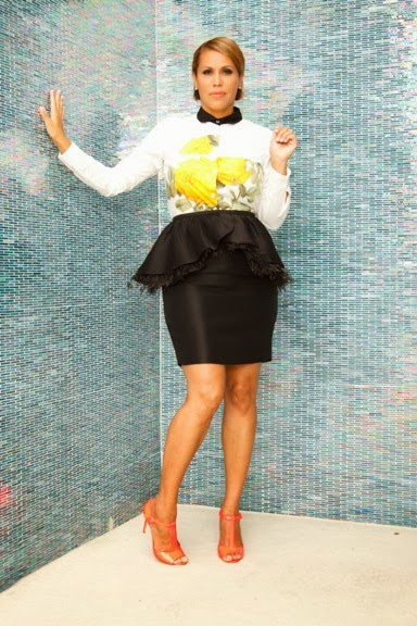 yellow dress nes anchor blouse