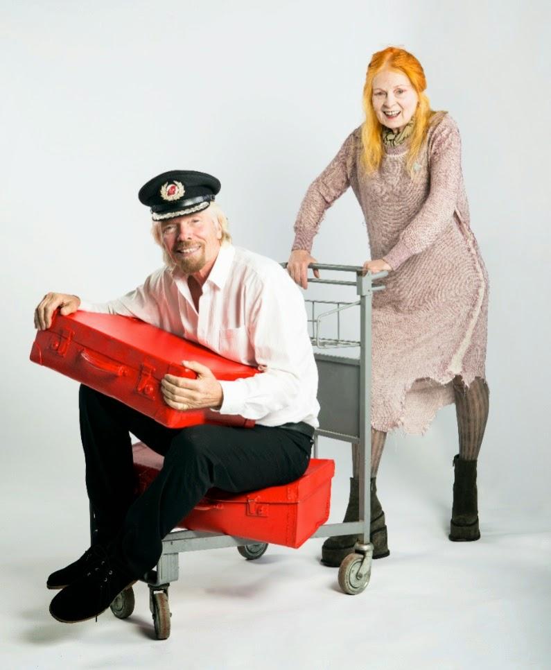 Richard Branson & Vivienne Westwood