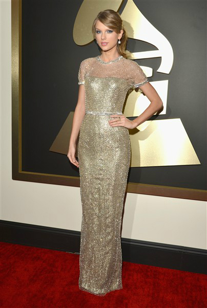 Taylor Swift in Gucci at the Grammys