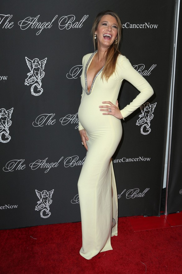 Blake Lively in Gucci at the Angel Ball