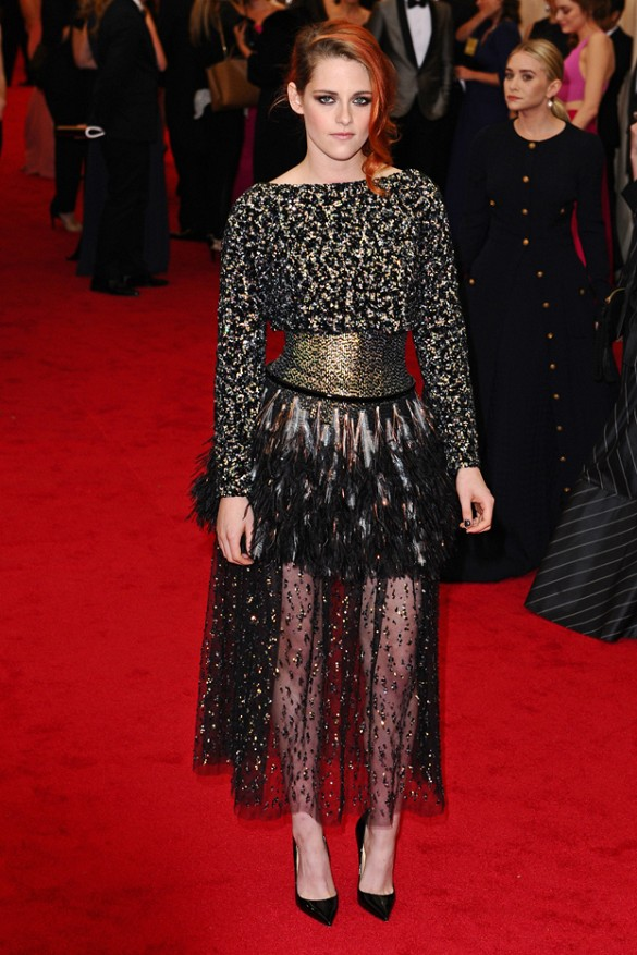 Kristen Stewart in Chanel at the Met Gala