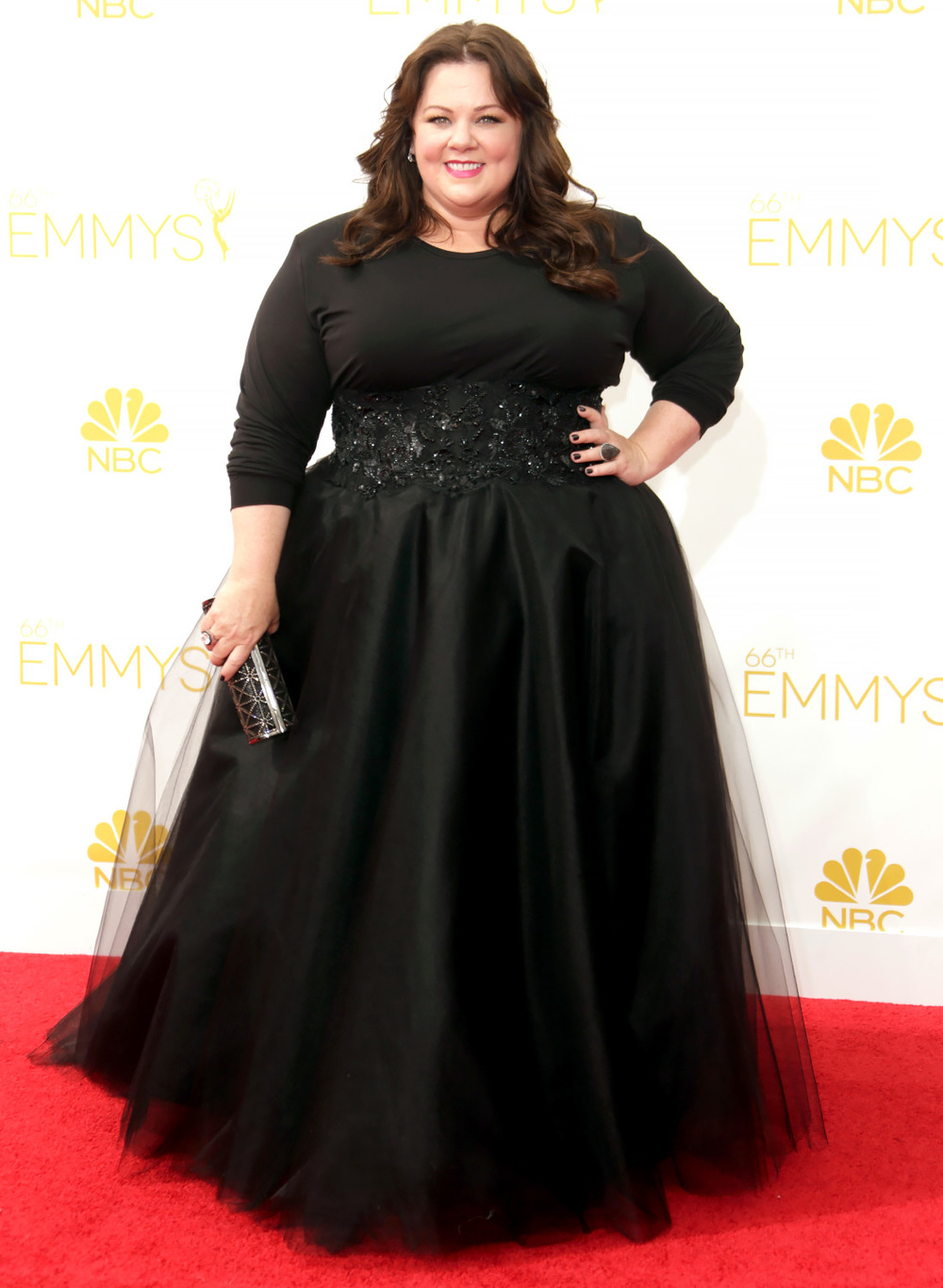 Melissa McCartney in Marchesa at the Emmys