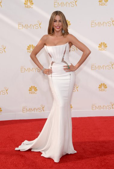 Sofia Vergara in Roberto Cavalli at the Emmys