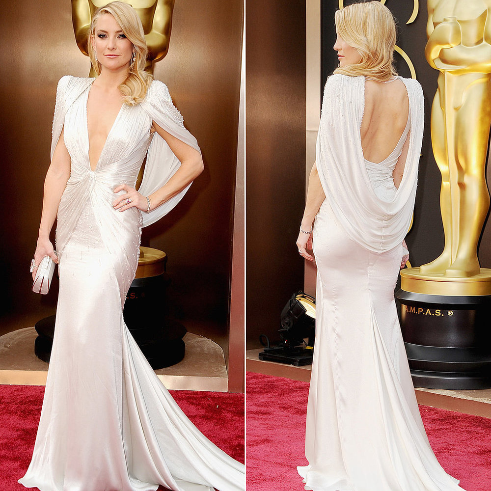 Kate Hudson in Atelier Versace at the Academy Awards