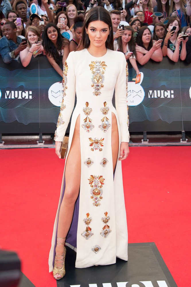 Kendall Jenner in Faust Puglisi at the Much Music Video Awards