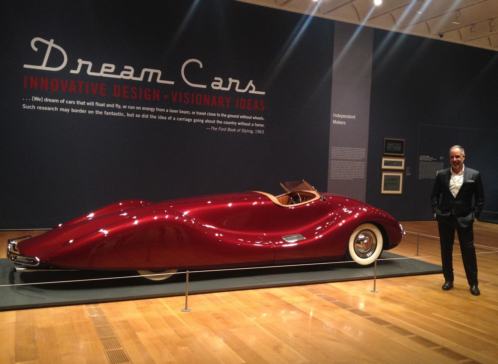 The Dream Cars exhibit at the High Museum of Art. Interview with High's curator, click  HERE .