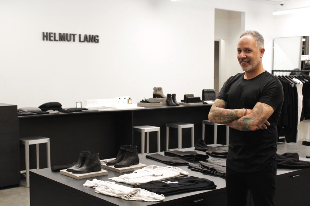 I hosted a private shopping night at Helmut Lang. Incredible.  Click for Recap/Photo gallery.