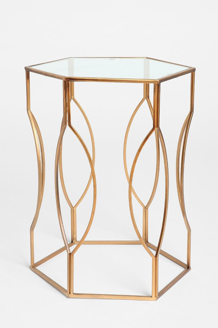 Hexagon Side Table – Urban Outfitters