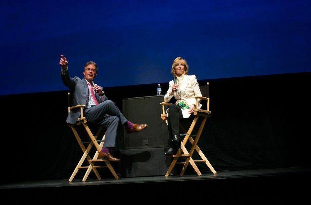 John Roberts / Nancy Spielberg   Photos: Duane Stork