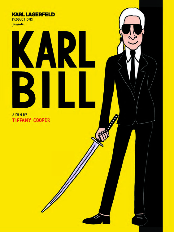 karl Lagergeld kill bill