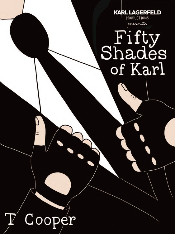 karl lagerfeld fifty shades of grey
