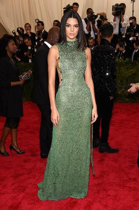 Kendall Jenner. Boring in Calvin Klein.