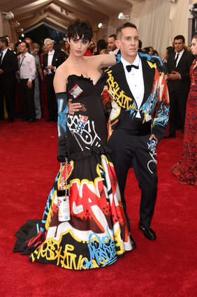 Katy Perry & Jeremy Scott.