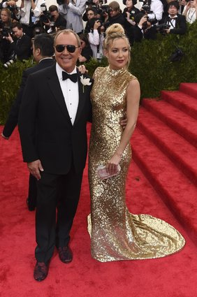 Michael Kors and Kate Hudson in Michael Kors.
