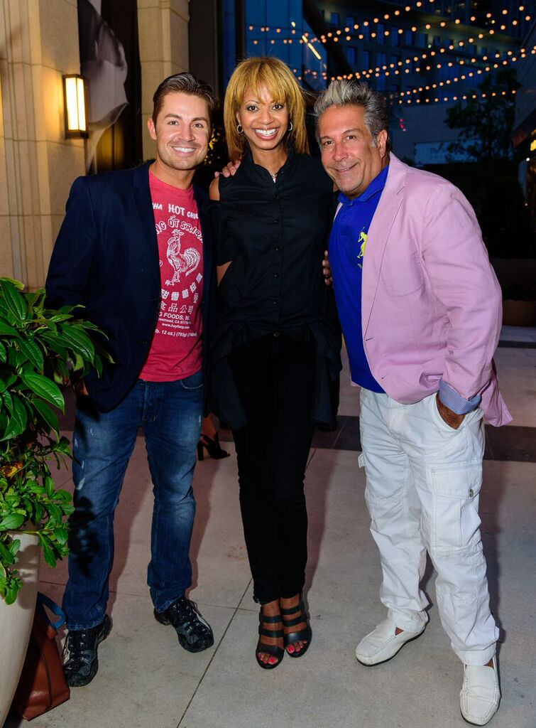 Michael Warren, Veronica Best & Richie Arpino
