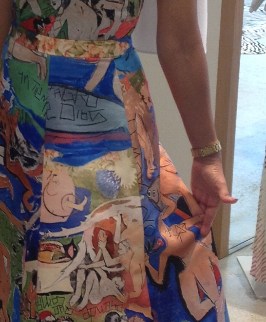 There is a CFDA connection to this dress from Alice + Olivia. We'll talk about it at the show!
