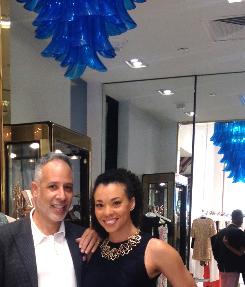 CBS 46's Tracye Hutchins will be a show-stopper in Alice + Olivia.