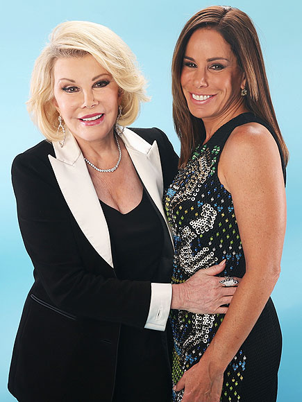 Joan Rivers Melissa Rivers fashion police