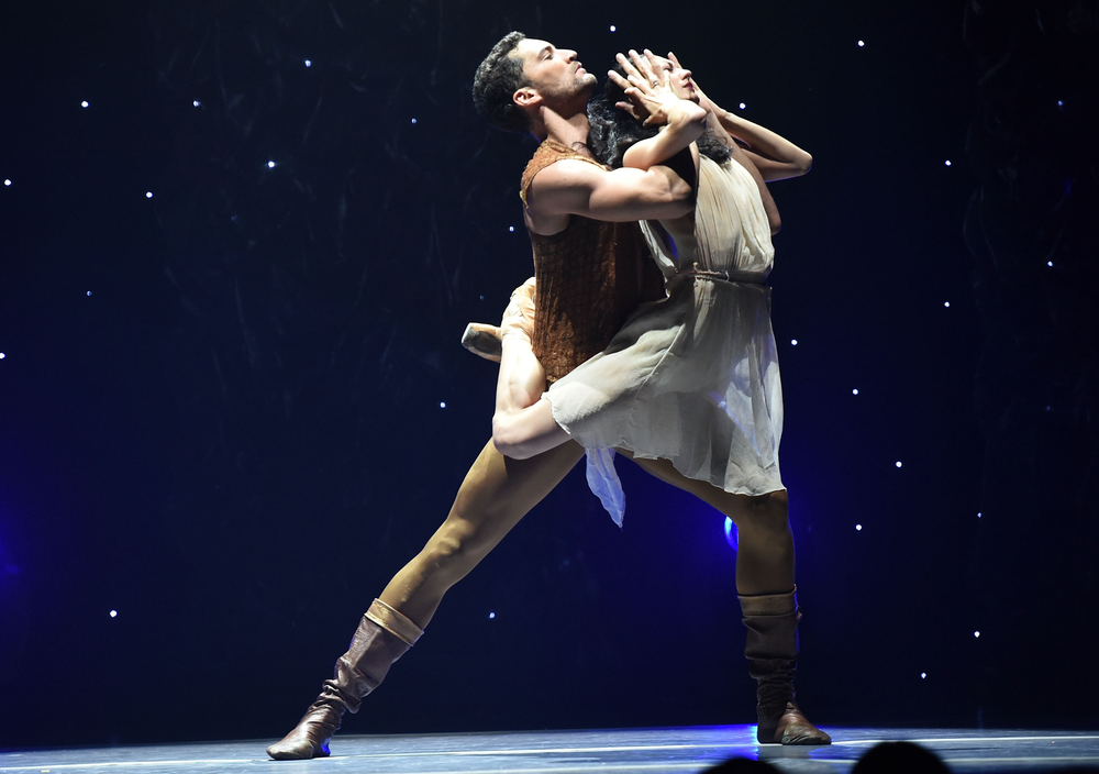 Fabrice Calmels and Victoria Jaiaini of Joffrey Ballet