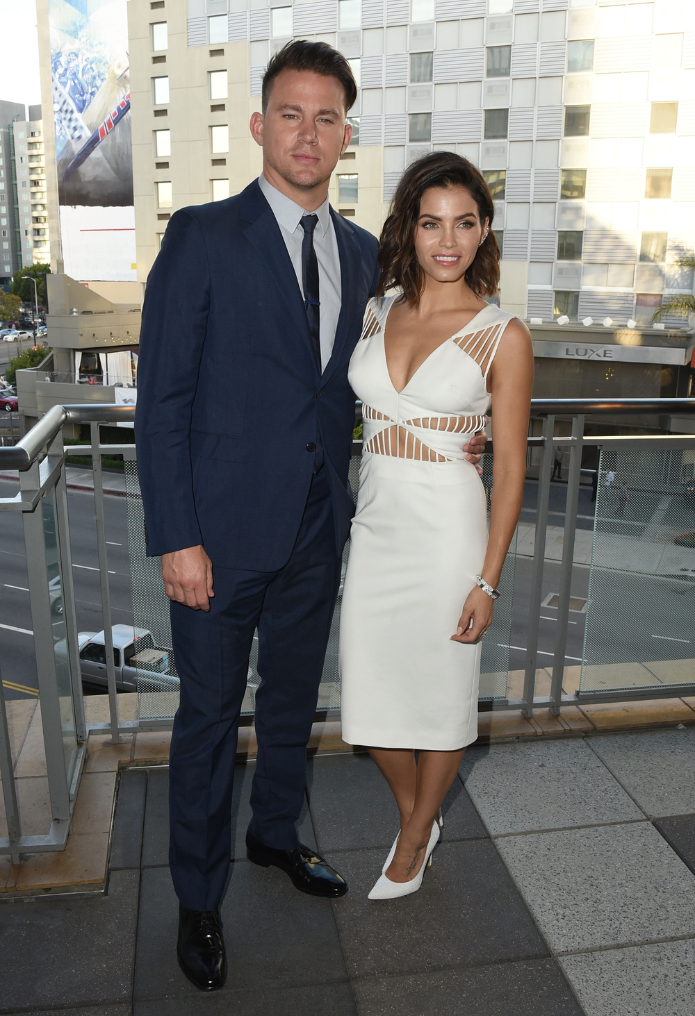 Channing Tatum and his wife actress Jenna Dewan-Tatum