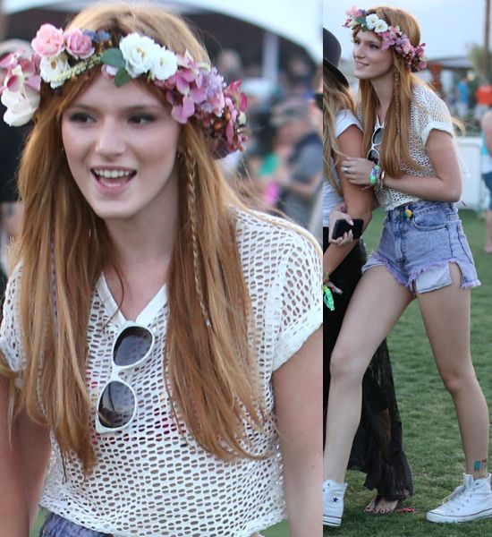 bella thorne flower crowns fashionado