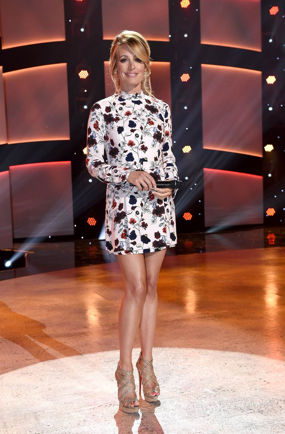 Cat Deeley     Dress: A.L.C.   Andrea Lieberman Collection  Shoes:  Christian Louboutin